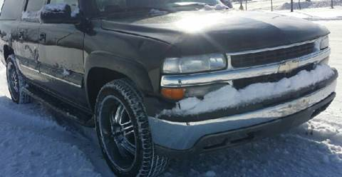 2003 Chevrolet Suburban for sale at WEST END AUTO INC in Chicago IL