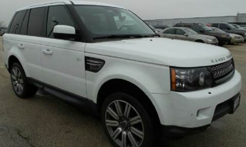 2012 Land Rover Range Rover Sport for sale at WEST END AUTO INC in Chicago IL