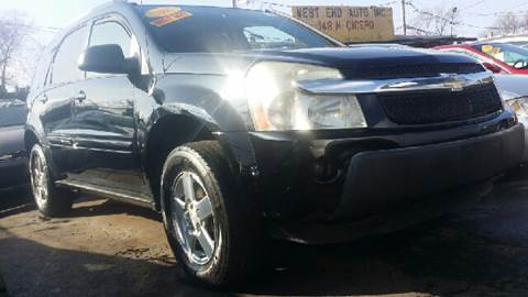 2005 Chevrolet Equinox for sale at WEST END AUTO INC in Chicago IL