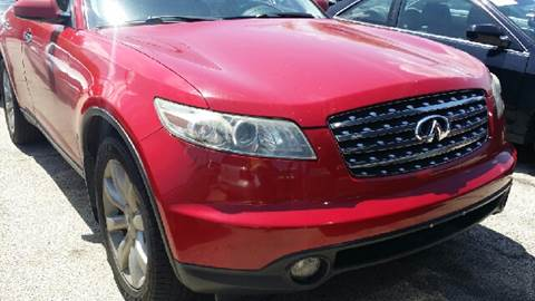 2003 Infiniti FX35 for sale at WEST END AUTO INC in Chicago IL