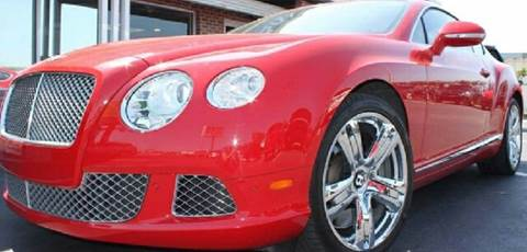 2012 Bentley Continental GT for sale at WEST END AUTO INC in Chicago IL
