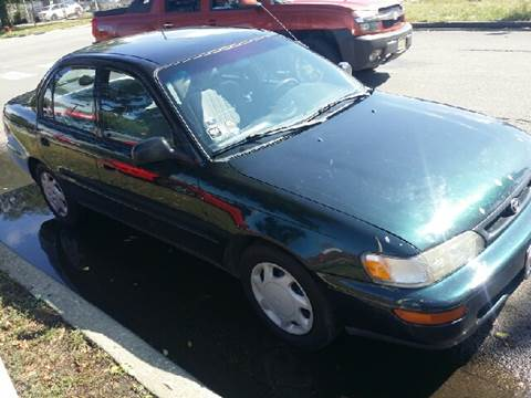 1997 Toyota Corolla for sale at WEST END AUTO INC in Chicago IL
