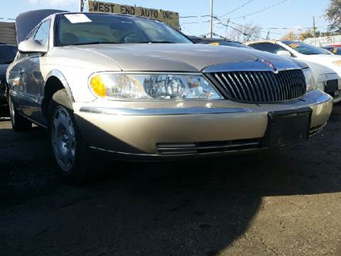 2002 Lincoln Continental for sale at WEST END AUTO INC in Chicago IL