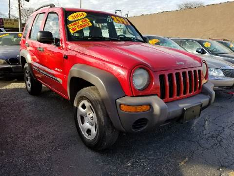 2004 Jeep Liberty for sale at WEST END AUTO INC in Chicago IL