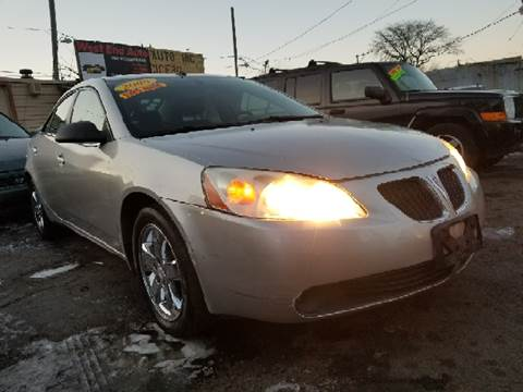 2008 Pontiac G6 for sale at WEST END AUTO INC in Chicago IL