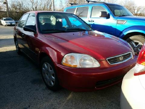 1998 Honda Civic for sale at WEST END AUTO INC in Chicago IL
