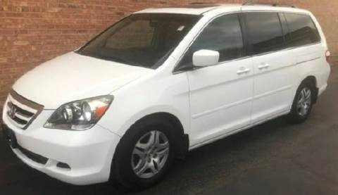 2007 Honda Odyssey for sale at WEST END AUTO INC in Chicago IL