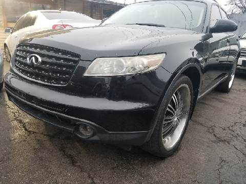 2004 Infiniti FX35 for sale at WEST END AUTO INC in Chicago IL