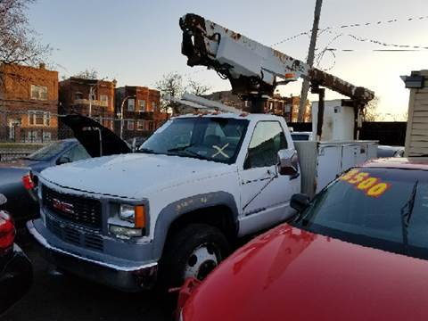 2001 GMC Sierra 3500HD for sale at WEST END AUTO INC in Chicago IL