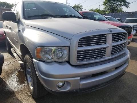 2003 Dodge Ram Pickup 1500 for sale at WEST END AUTO INC in Chicago IL