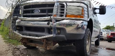 2000 Ford F-350 Super Duty for sale at WEST END AUTO INC in Chicago IL