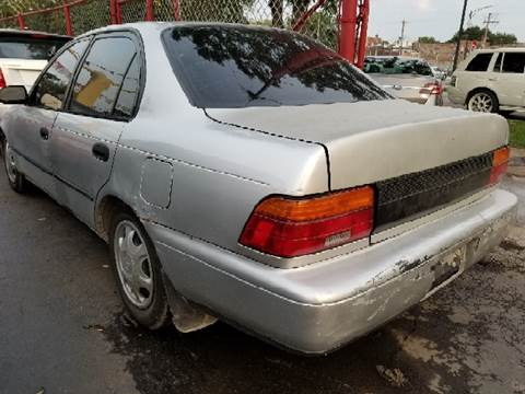 1994 Toyota Corolla for sale at WEST END AUTO INC in Chicago IL