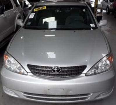 2002 Toyota Camry for sale at WEST END AUTO INC in Chicago IL