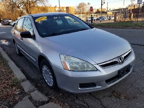 2006 Honda Accord for sale at WEST END AUTO INC in Chicago IL