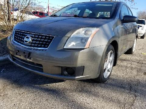 2007 Nissan Sentra for sale at WEST END AUTO INC in Chicago IL