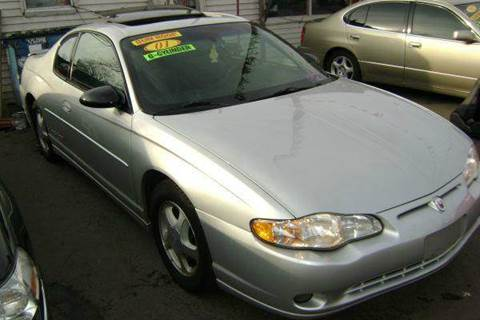 2001 Chevrolet Monte Carlo for sale at WEST END AUTO INC in Chicago IL