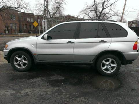 2001 BMW X5 for sale at WEST END AUTO INC in Chicago IL