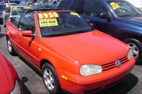2001 Volkswagen Cabrio for sale at WEST END AUTO INC in Chicago IL