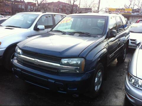 2002 Chevrolet TrailBlazer for sale at WEST END AUTO INC in Chicago IL