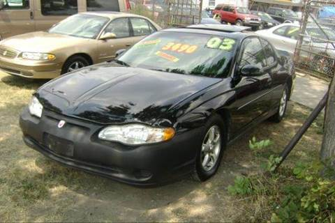 2003 Chevrolet Monte Carlo for sale at WEST END AUTO INC in Chicago IL