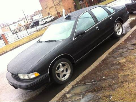 1996 Chevrolet Caprice for sale at WEST END AUTO INC in Chicago IL