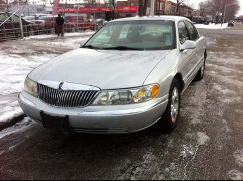 1998 Lincoln Continental for sale at WEST END AUTO INC in Chicago IL