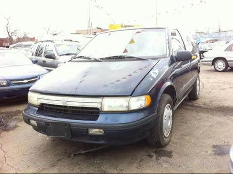 1993 Mercury Villager for sale at WEST END AUTO INC in Chicago IL