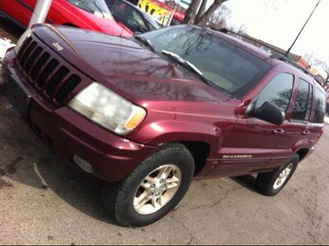 1999 Jeep Grand Cherokee for sale at WEST END AUTO INC in Chicago IL