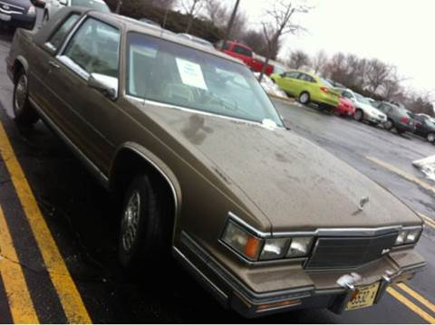 1986 Cadillac DeVille for sale at WEST END AUTO INC in Chicago IL