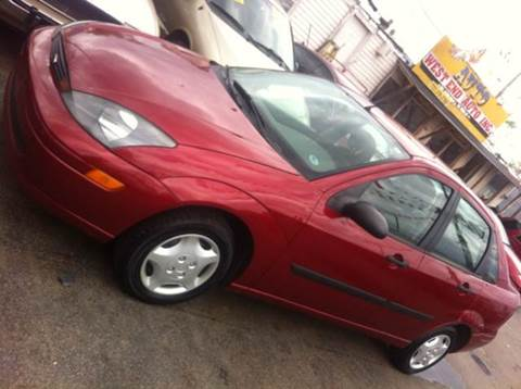 2003 Ford Focus for sale at WEST END AUTO INC in Chicago IL