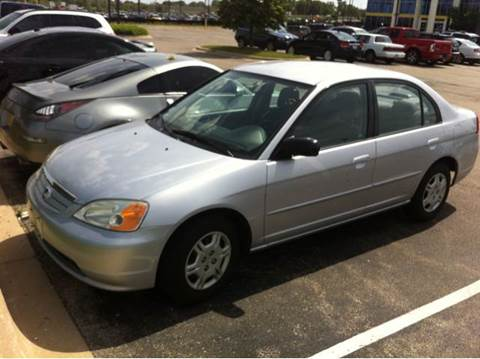 2002 Honda Civic for sale at WEST END AUTO INC in Chicago IL