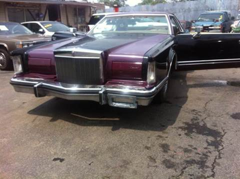 1979 Lincoln Mark V for sale at WEST END AUTO INC in Chicago IL