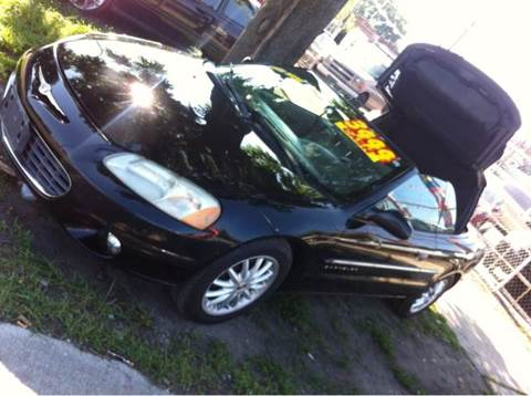 2001 Chrysler Sebring for sale at WEST END AUTO INC in Chicago IL