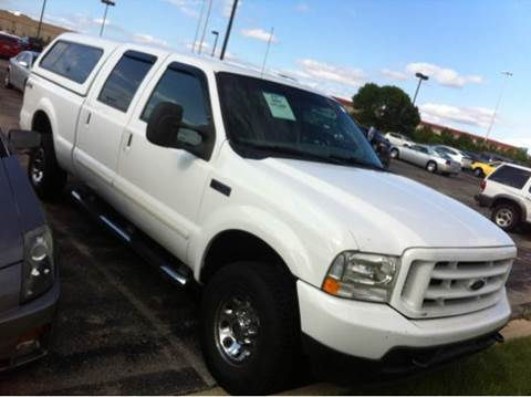 2003 Ford F-250 for sale at WEST END AUTO INC in Chicago IL