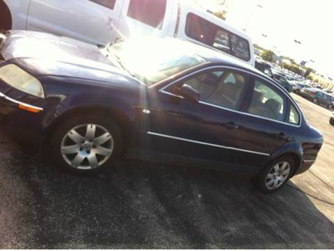 2001 Volkswagen Passat for sale at WEST END AUTO INC in Chicago IL