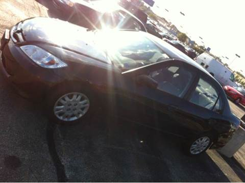 2005 Honda Civic for sale at WEST END AUTO INC in Chicago IL