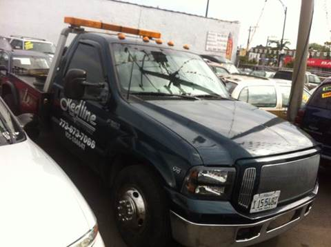 1999 Ford F-450 for sale at WEST END AUTO INC in Chicago IL