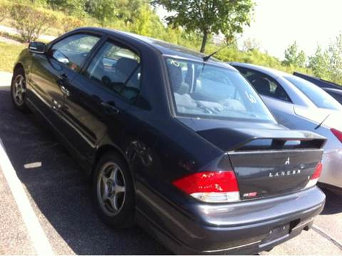 2003 Mitsubishi Lancer for sale at WEST END AUTO INC in Chicago IL