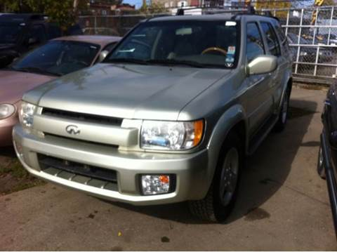 2001 Infiniti QX4 for sale at WEST END AUTO INC in Chicago IL
