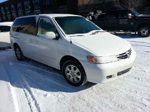 2004 Honda Odyssey for sale at WEST END AUTO INC in Chicago IL