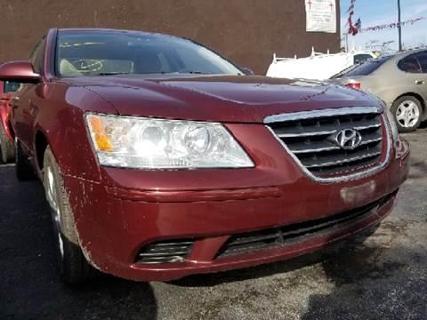 2009 Hyundai Sonata for sale at WEST END AUTO INC in Chicago IL