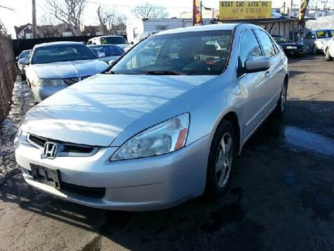 2005 Honda Accord Hybrid for sale at WEST END AUTO INC in Chicago IL