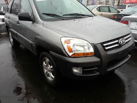 2007 Kia Sportage for sale at WEST END AUTO INC in Chicago IL