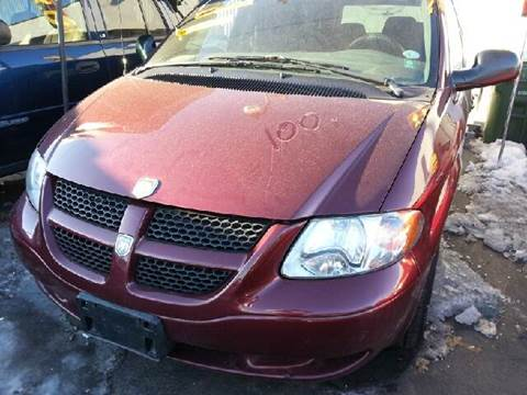 2002 Dodge Grand Caravan for sale at WEST END AUTO INC in Chicago IL