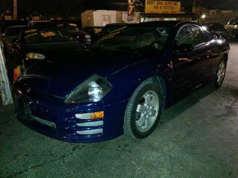 2000 Mitsubishi Eclipse for sale at WEST END AUTO INC in Chicago IL