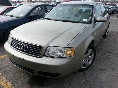 2002 Audi A6 for sale at WEST END AUTO INC in Chicago IL