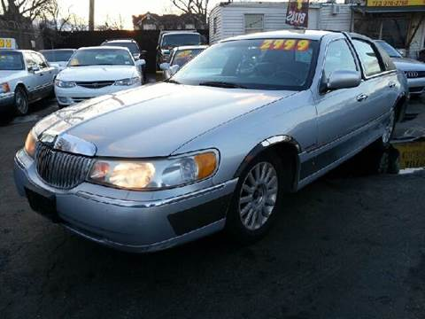 1998 Lincoln Town Car for sale at WEST END AUTO INC in Chicago IL