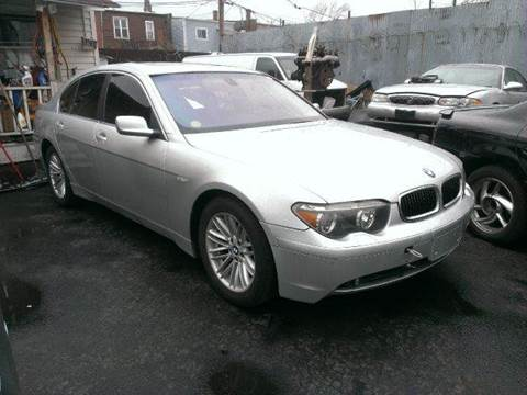 2004 BMW 7 Series for sale at WEST END AUTO INC in Chicago IL