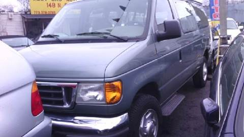2006 Ford E-Series Wagon for sale at WEST END AUTO INC in Chicago IL