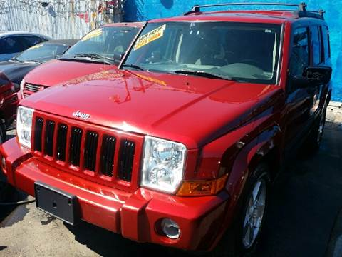 2006 Jeep Commander for sale at WEST END AUTO INC in Chicago IL